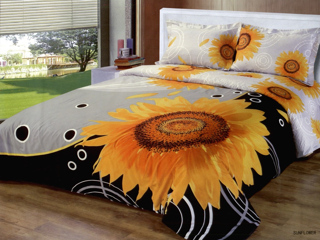 Picture of: Sunflower Quilt Pattern King
