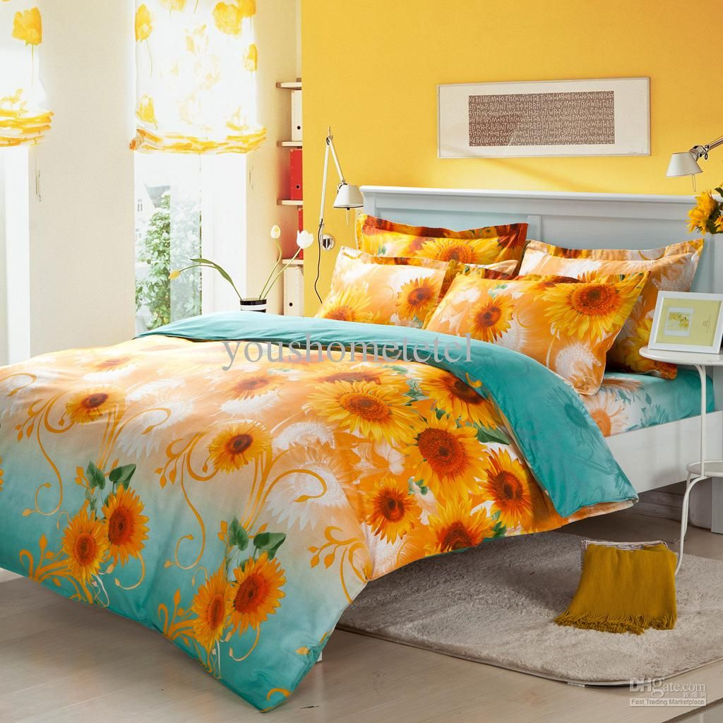 Picture of: Sunflower Quilt Pattern Style