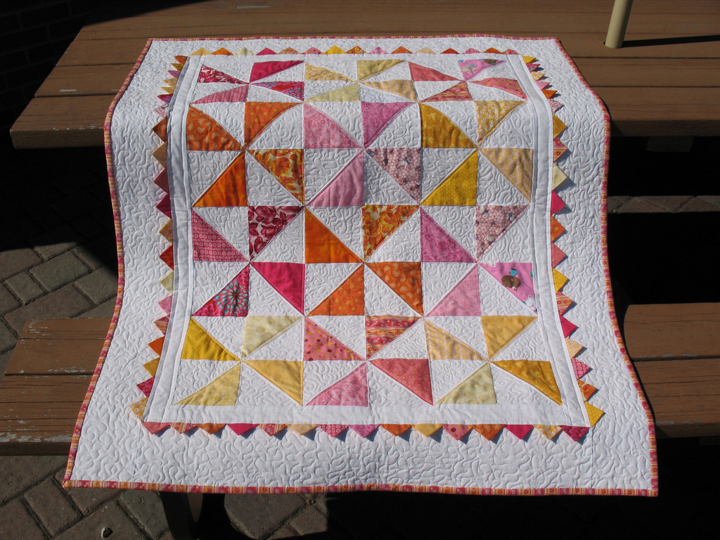 Image of: Sweet Design Baby Quilts Patterns