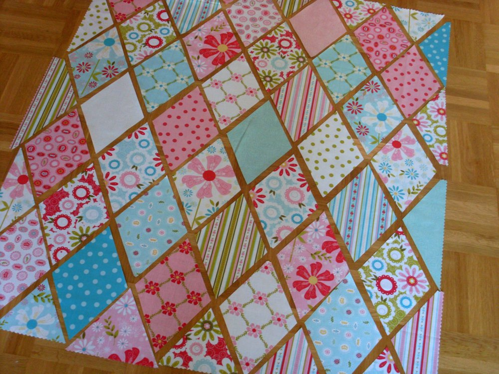 Image of: Sweet Diamond Quilt Pattern