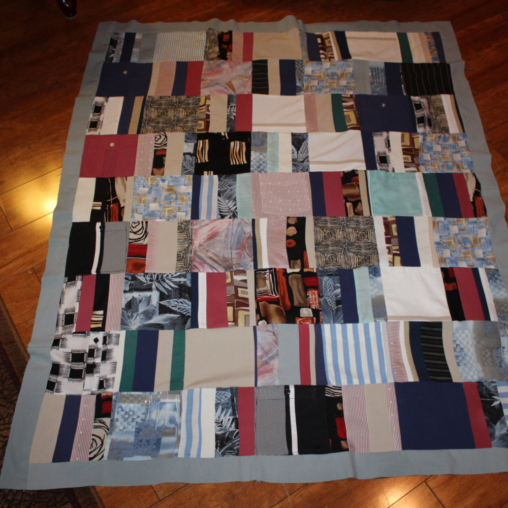 Image of: T Shirt Quilt Pattern Floor