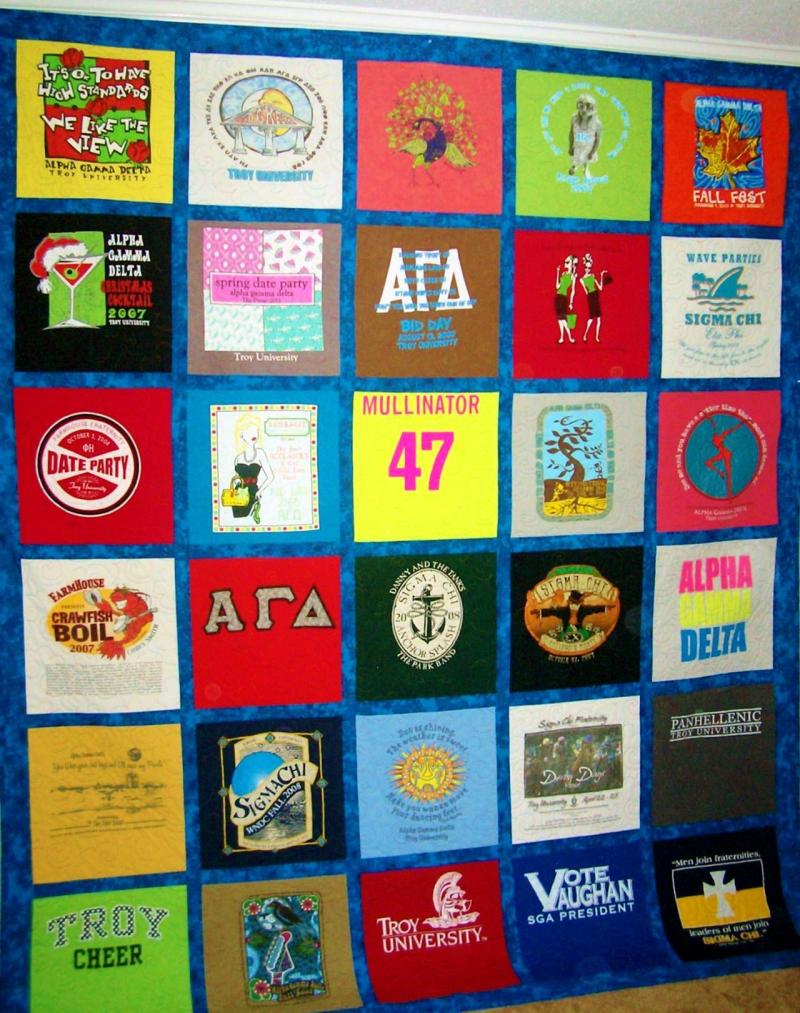 Image of: T Shirt Quilt Pattern Rack