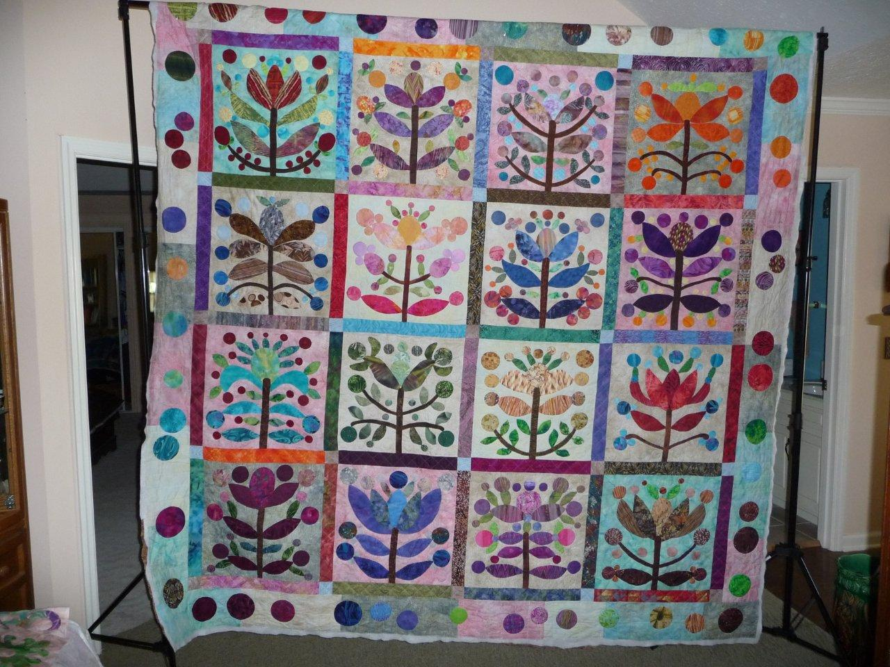 Tree Quilt Patterns Applique