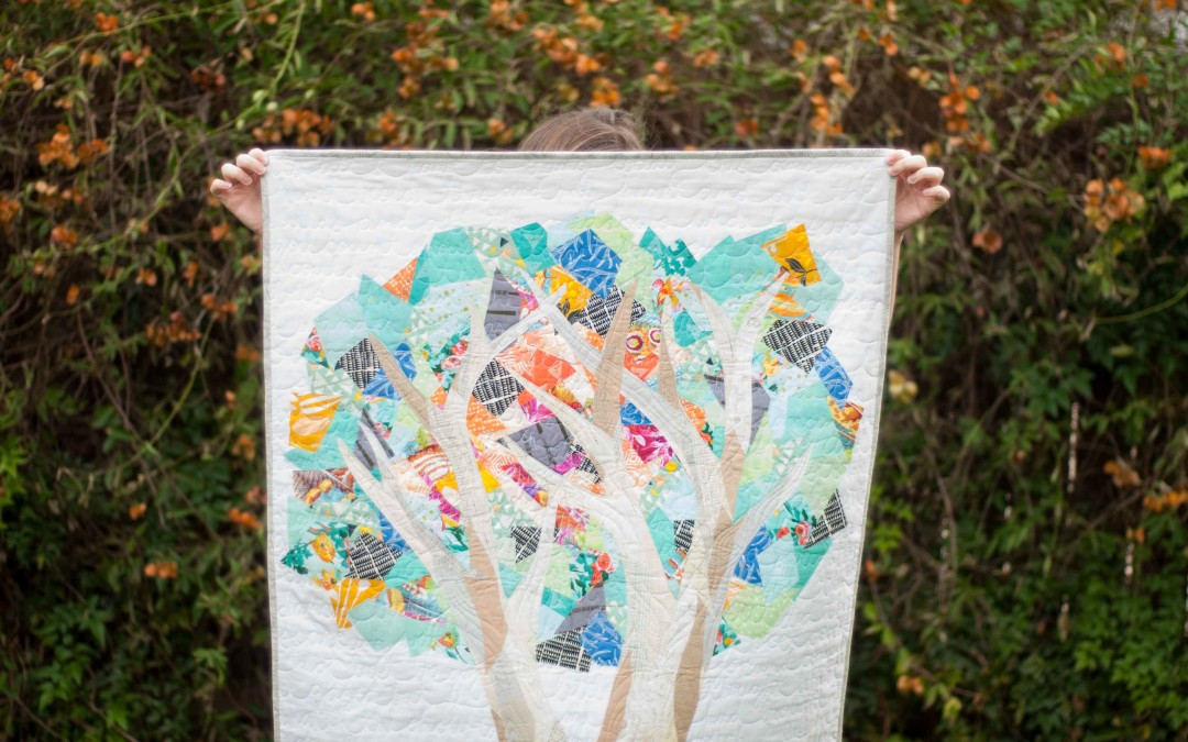 Image of: Tree Quilt Patterns Free