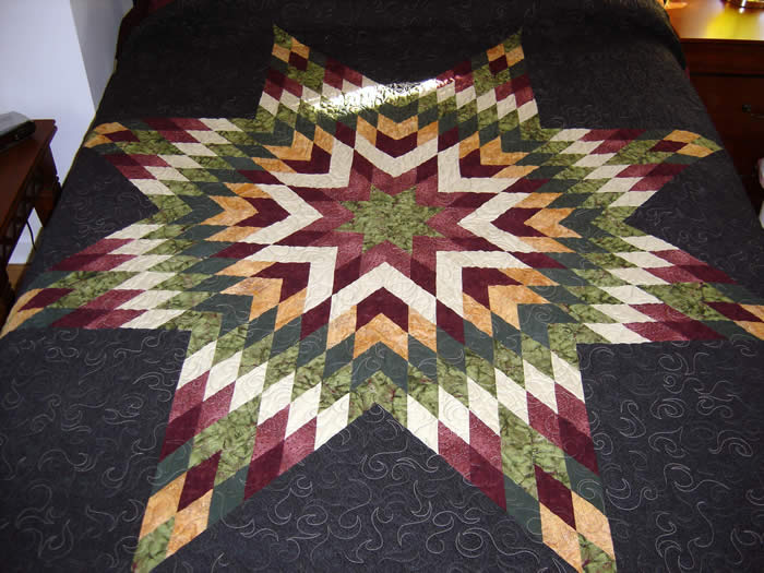 Picture of: Treebold Lone Star Quilt Pattern