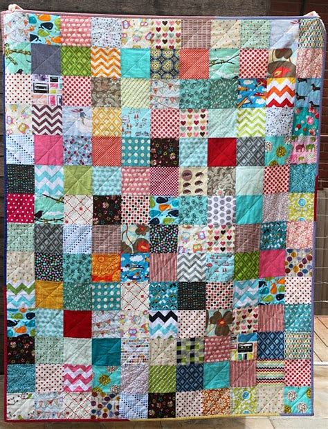 Picture of: Unique Scrappy Quilt Patterns