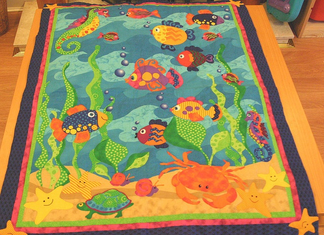 Picture of: Vintage Fish Quilt Pattern