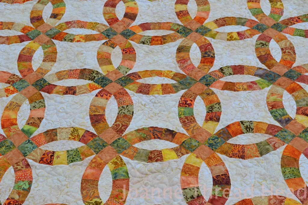 Image of: Wedding Ring Quilt Pattern Instructions