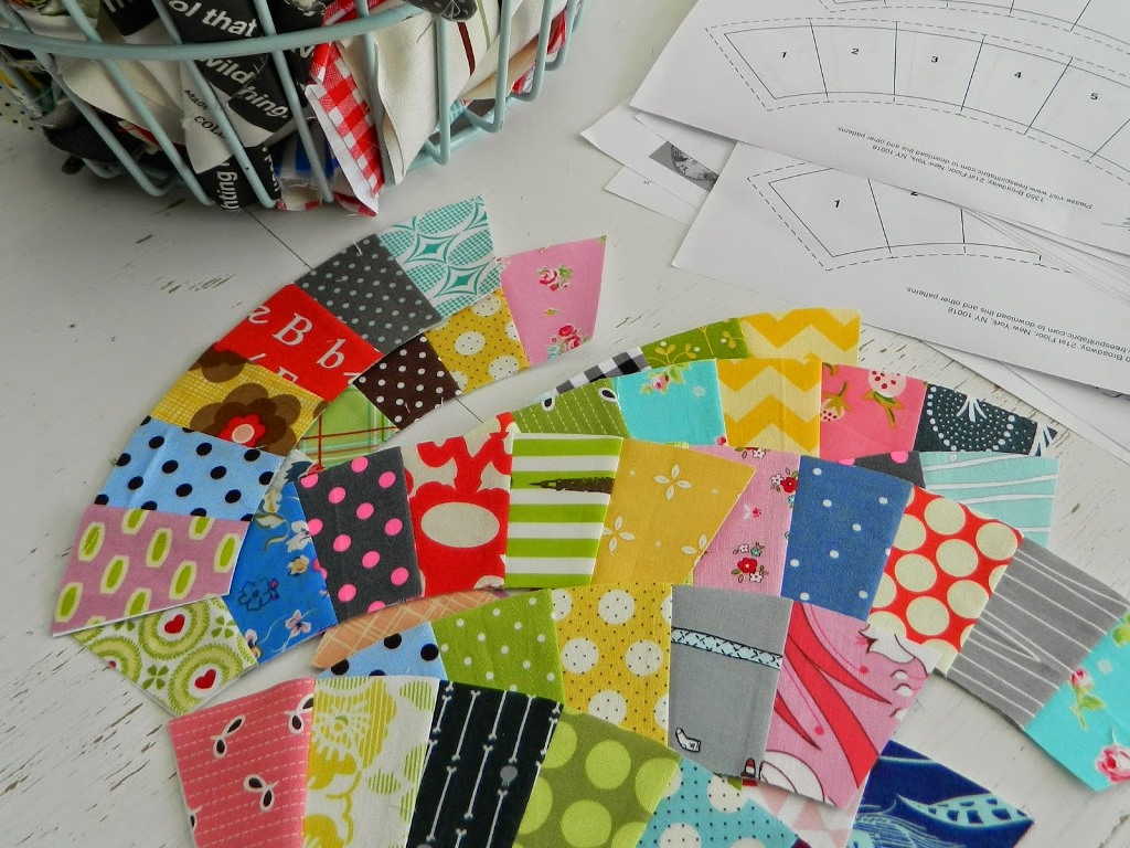 Picture of: Wedding Ring Quilt Pattern Template