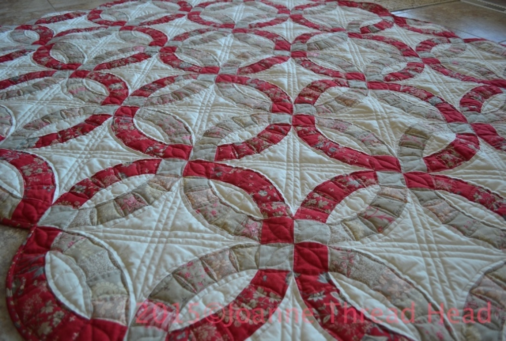Wedding Ring Quilt Pattern for Sale