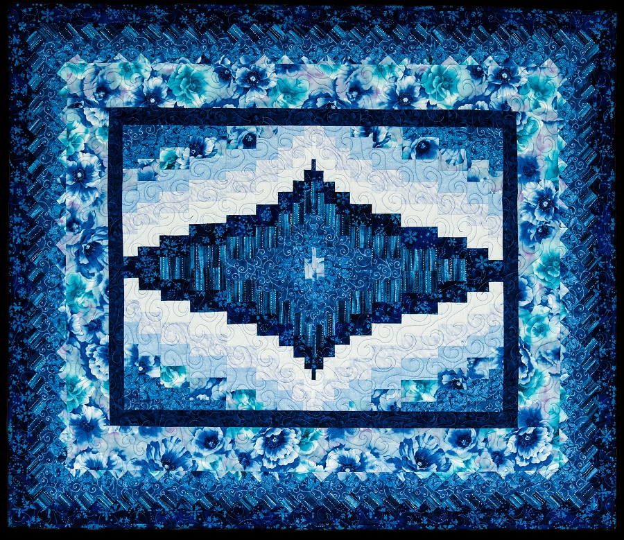 Winter Bargello Quilt Pattern