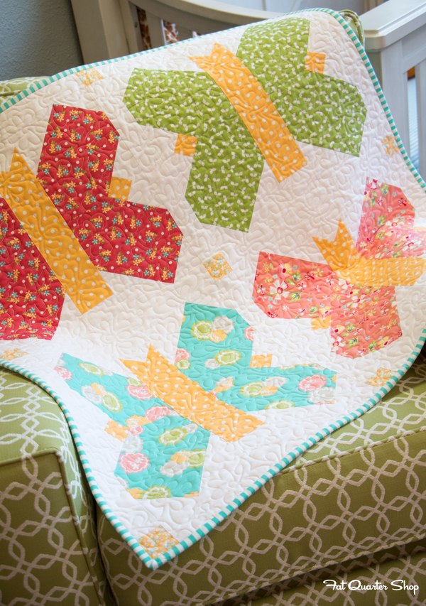 Wonderful Fat Quarter Baby Quilt