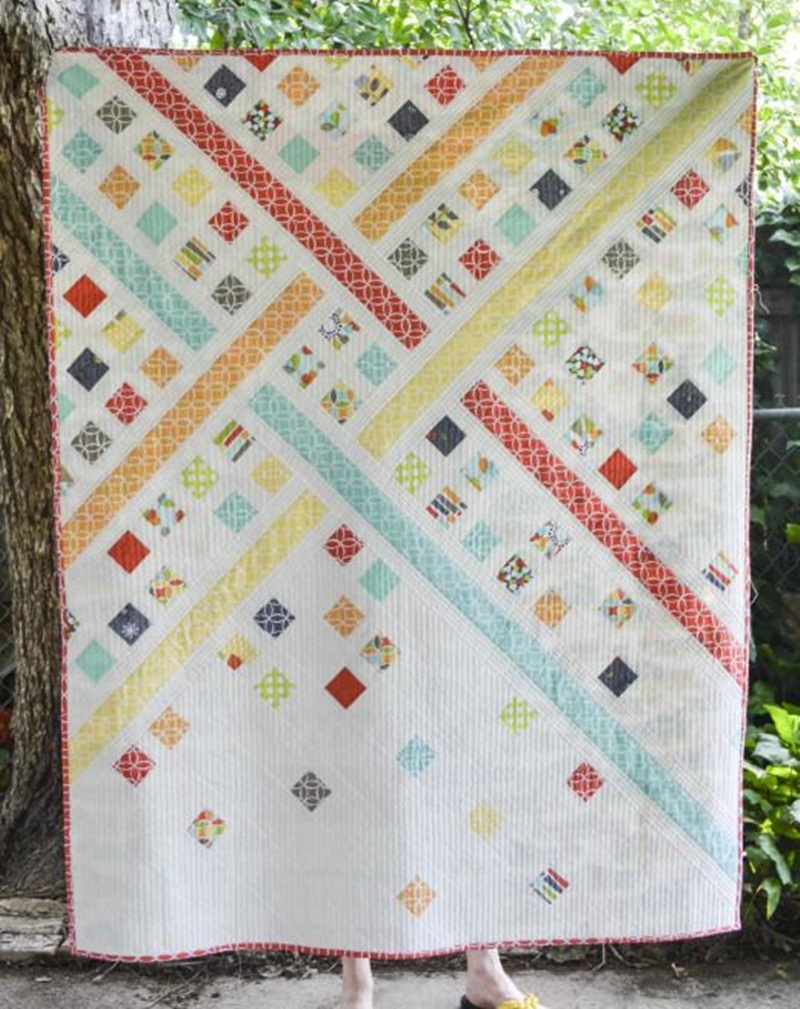 Image of: Wonderful Modern Baby Quilt Patterns