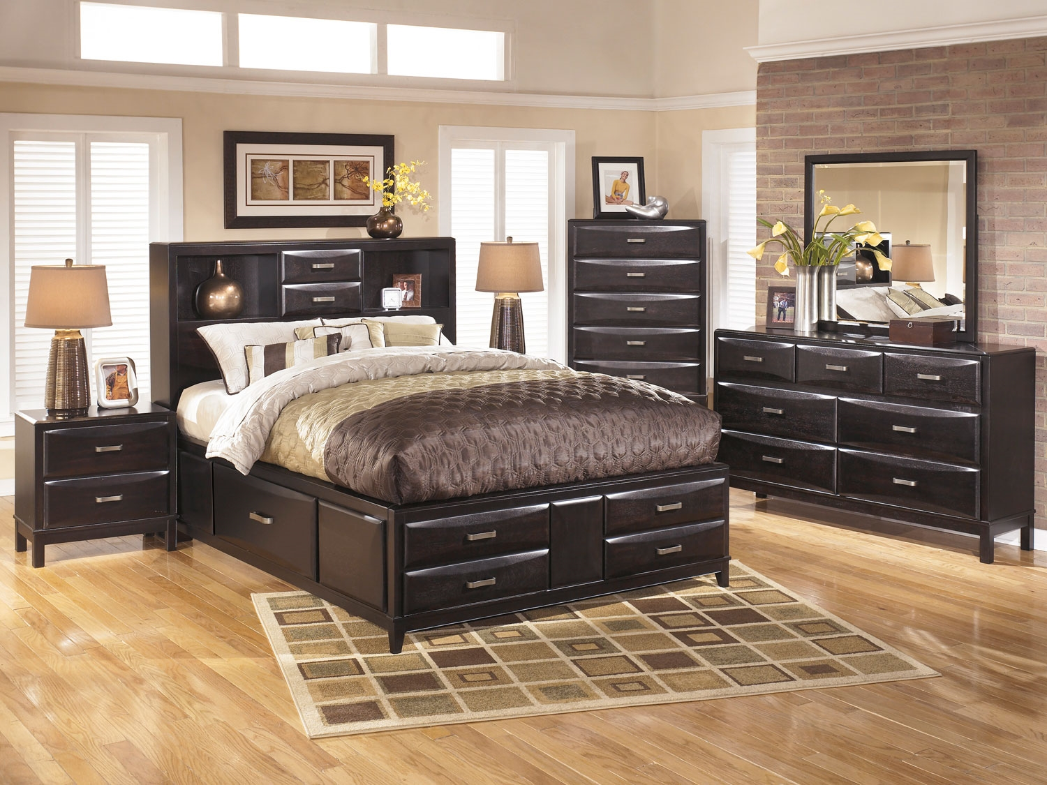 Image of: Ashley Furniture Bed With Storage Price Ideas