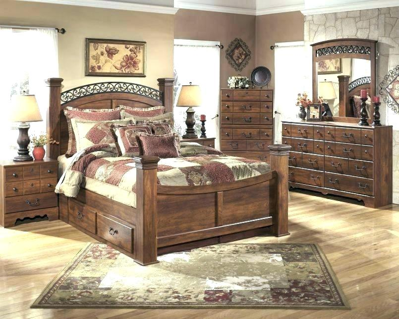 Image of: Ashley Furniture Bed With Storage Queen