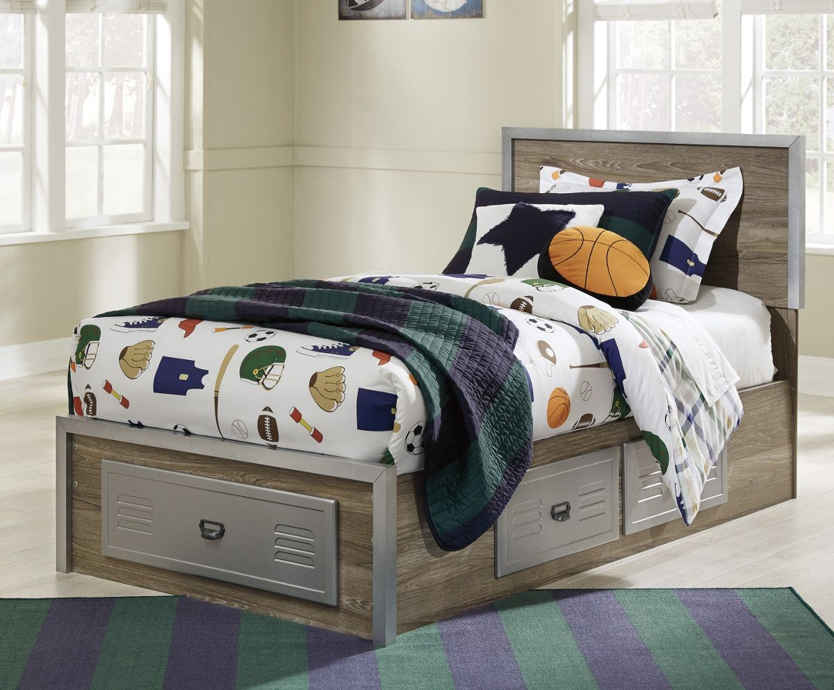 Image of: Ashley Furniture Bed With Storage Sale