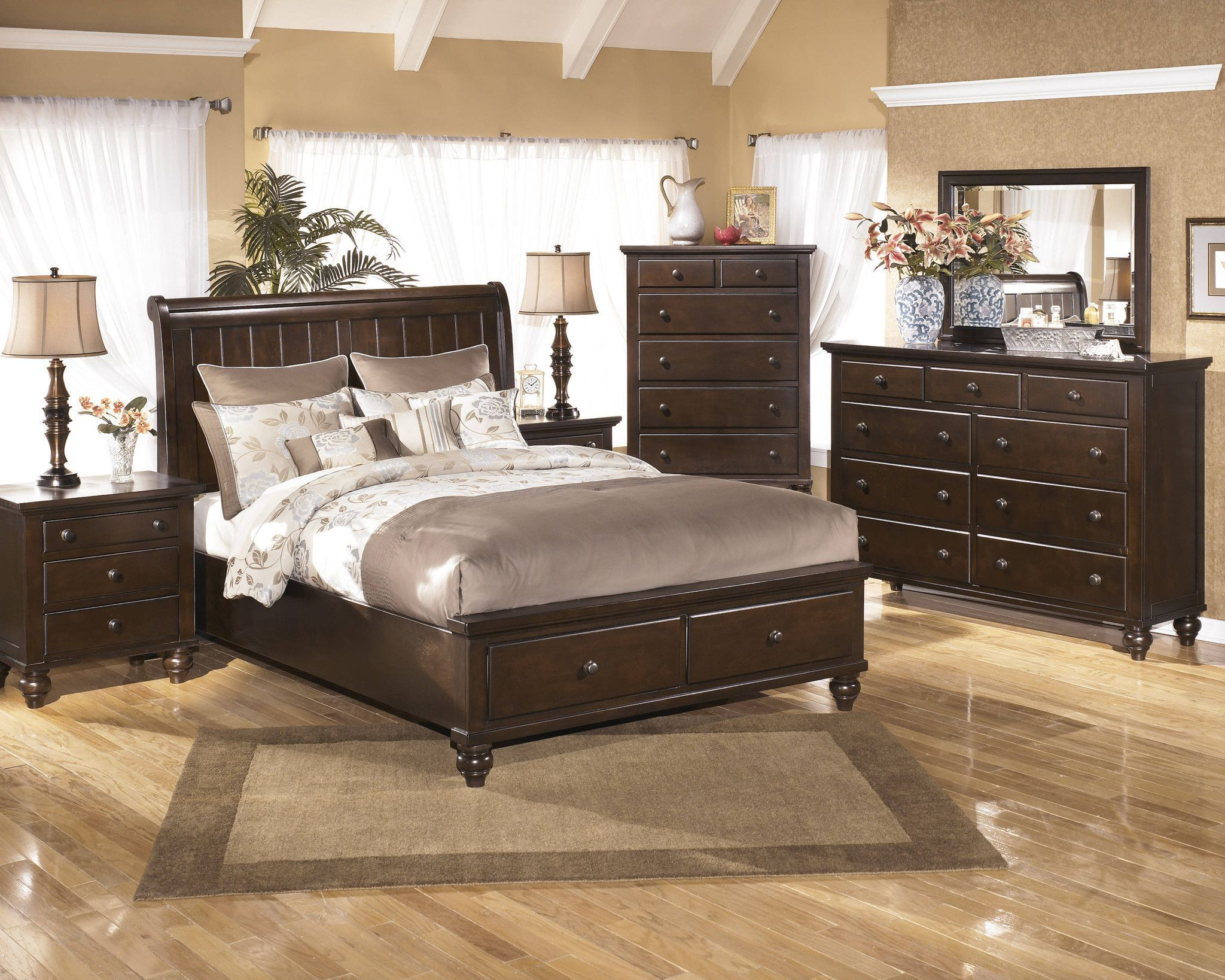 Image of: Ashley Furniture Bed With Storage at Target