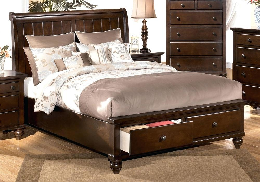 Picture of: Ashley Furniture Bed with Storage Full