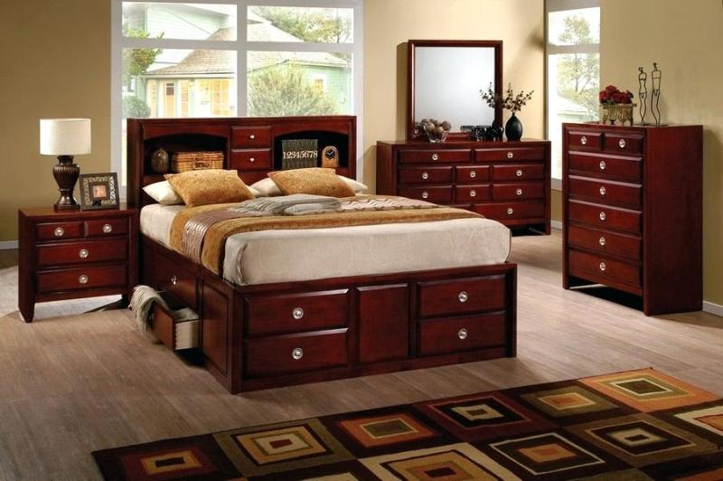 Ashley Furniture Kira Queen Storage Bed