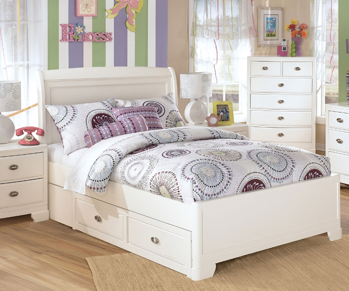 Image of: Ashley Furniture Platform Bed With Storage