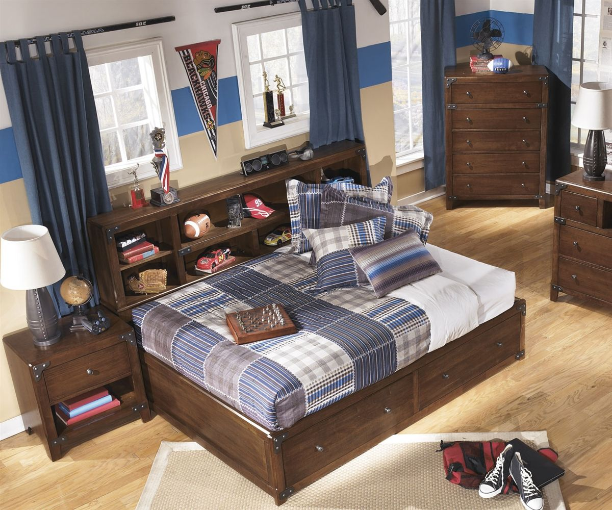 Image of: Ashley Storage Bed Boy