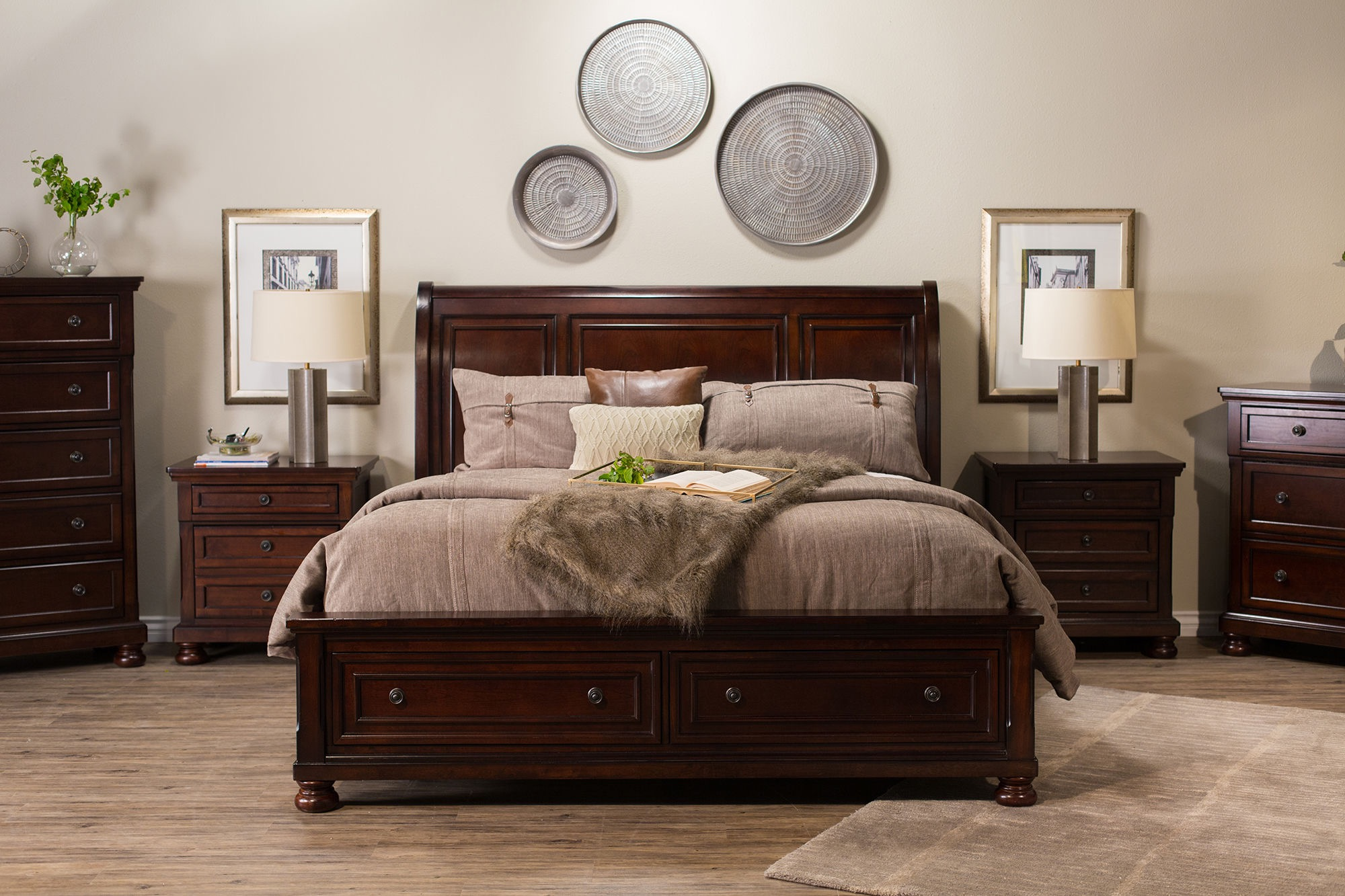 Image of: Ashley Storage Bed Elegant