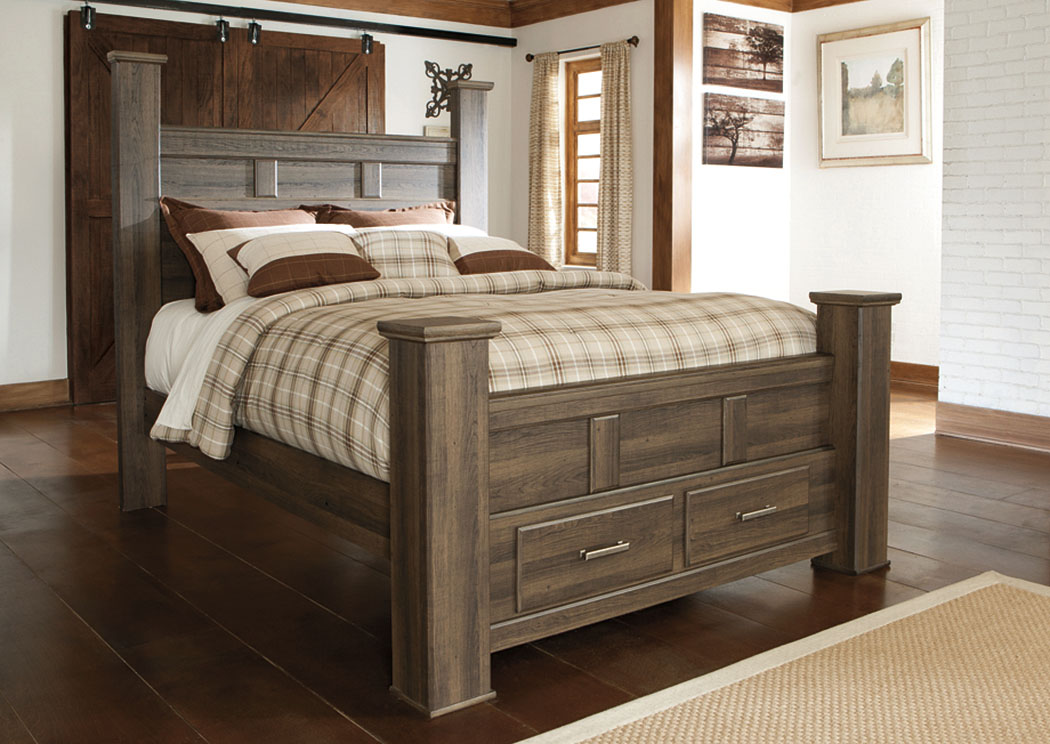 Image of: Ashley Storage Bed Furniture