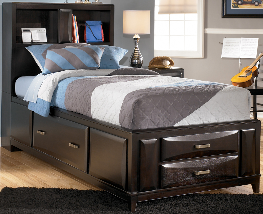 Image of: Ashley Storage Bed Headboard