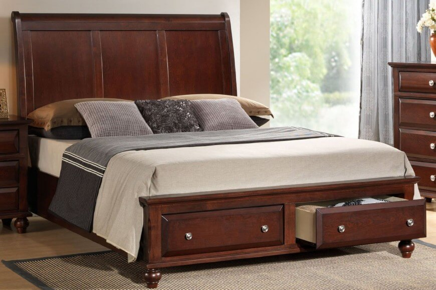 Picture of: Bed Storage Ideas Drawers