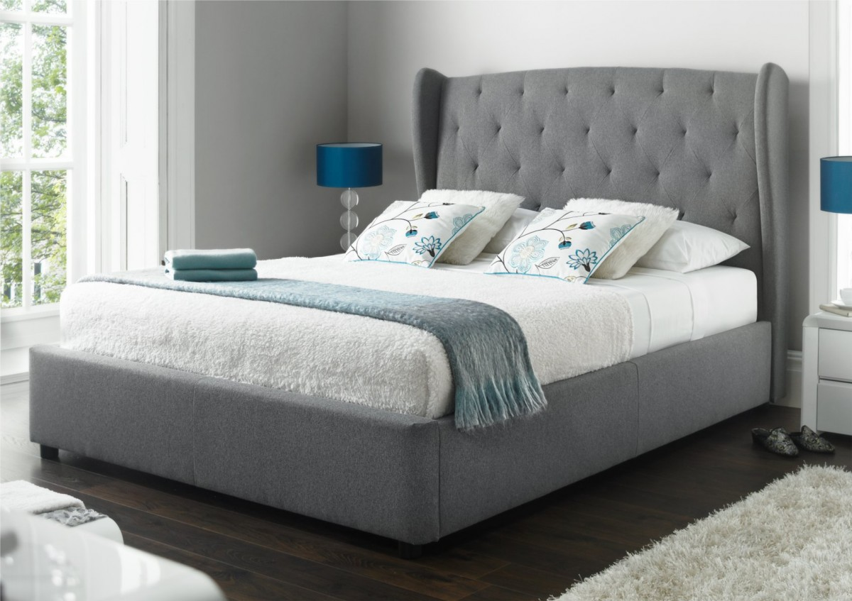 Image of: Bench Ottoman Storage Bed