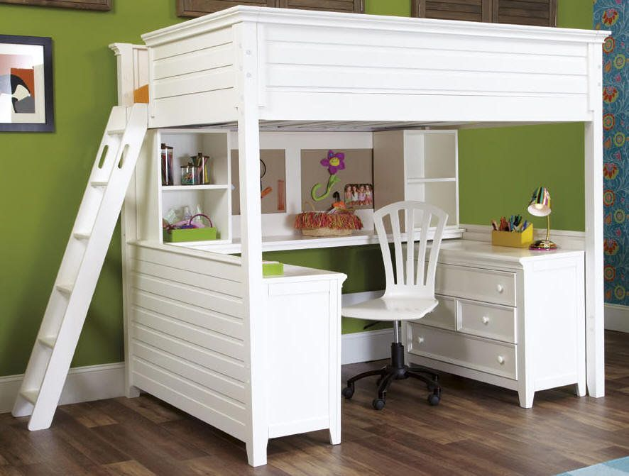 Image of: Best Full Size Loft Bed with Storage