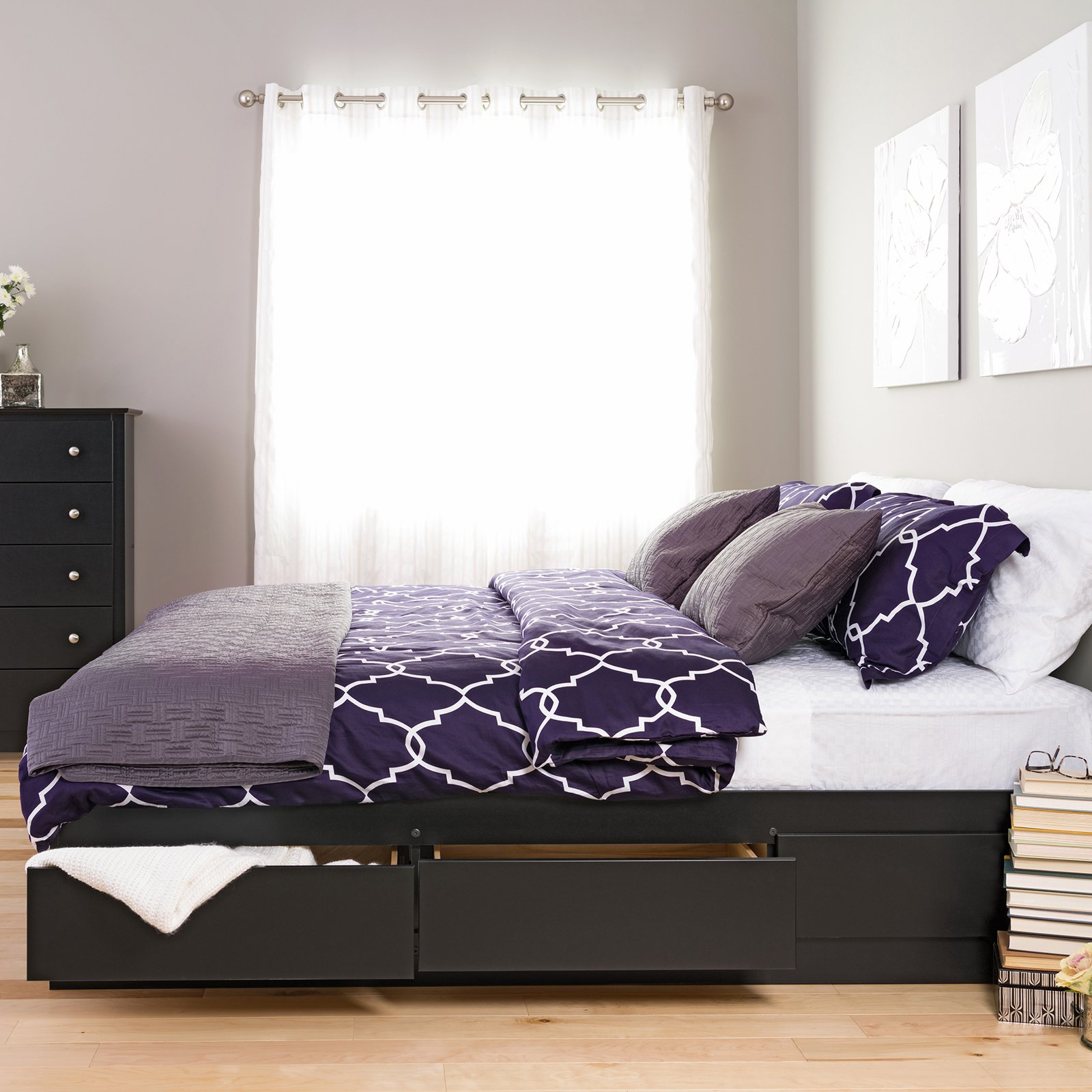 Image of: Best Storage Beds Size