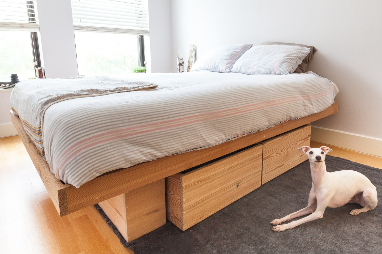 Image of: Best Storage Beds Wood