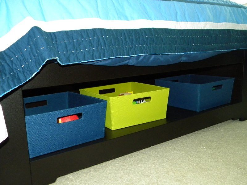 Image of: Best Under Bed Toy Storage Design