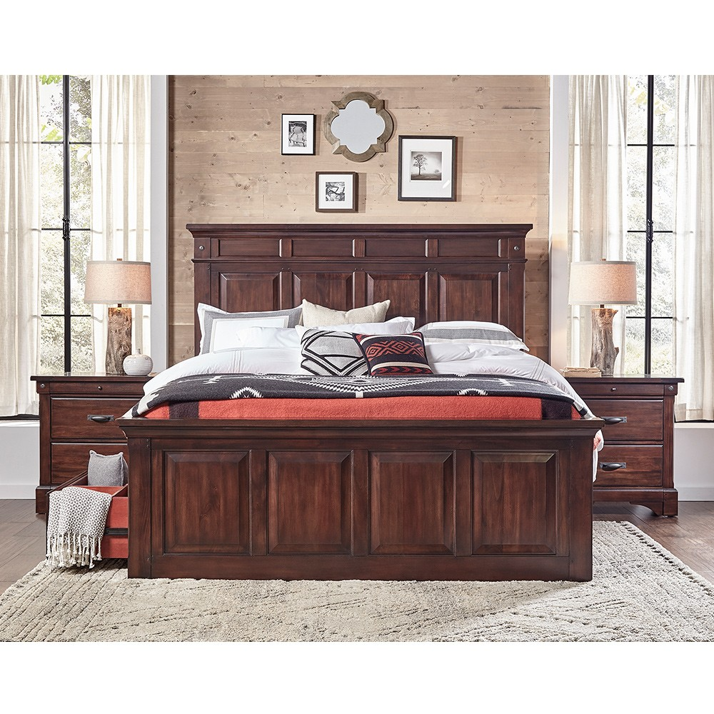 Picture of: Big Rustic Storage Bed
