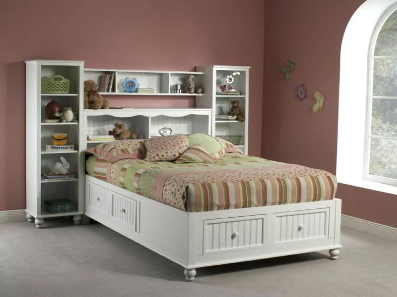Picture of: Black Storage Beds Full