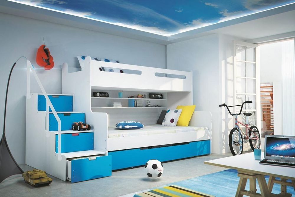 Picture of: Bunk Bed with Storage Collection