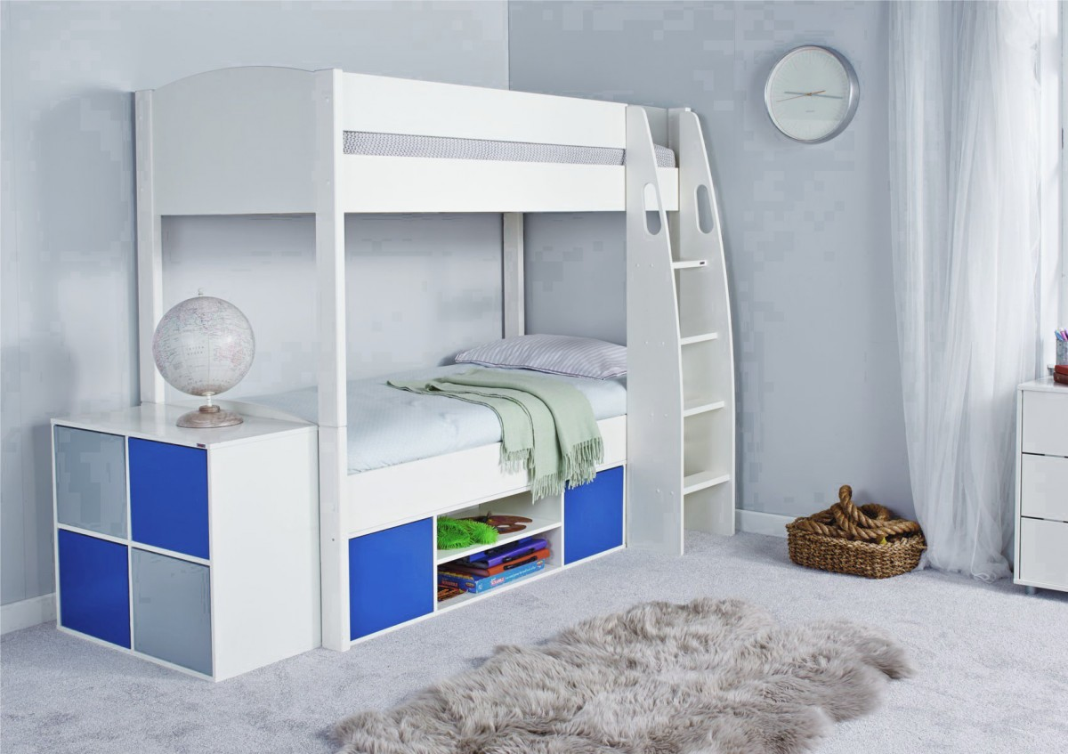 Picture of: Bunk Bed with Storage Design