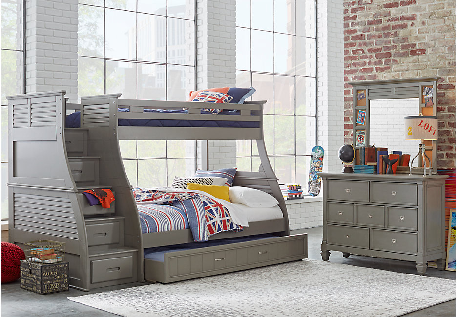 Picture of: Bunk Bed with Storage Ideas