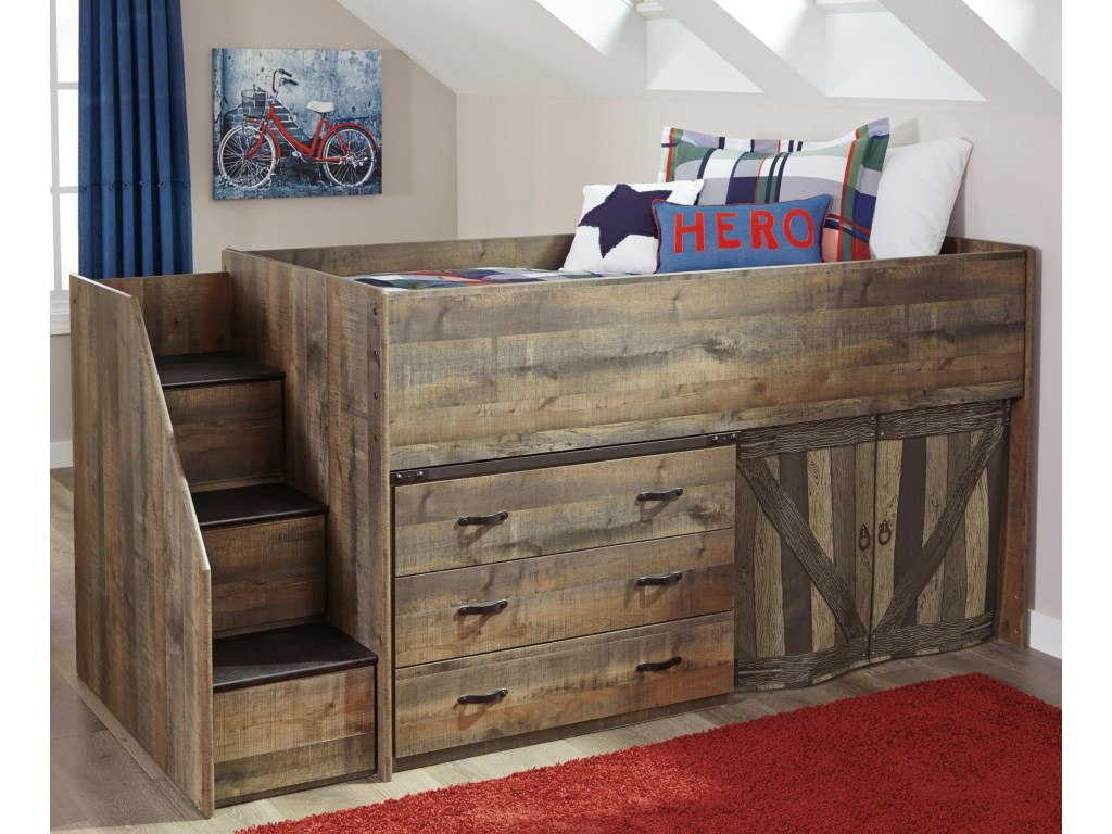 Picture of: Bunk Bed with Storage Signature