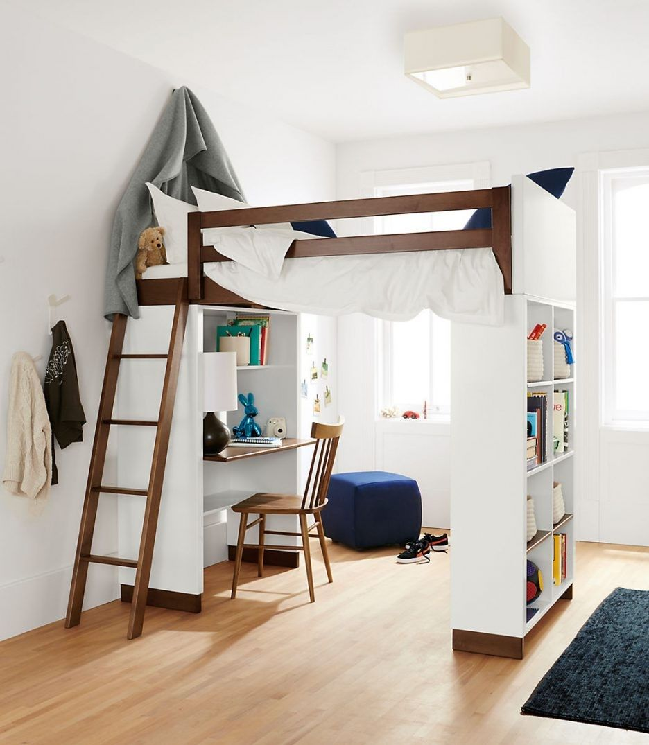 Picture of: Bunk Beds With Storage and Desk Ideas