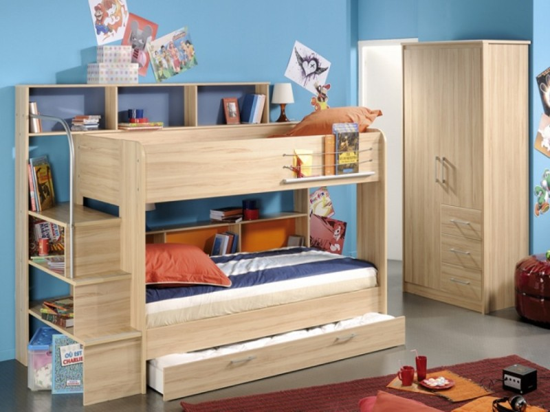 Image of: Bunk Beds With Storage