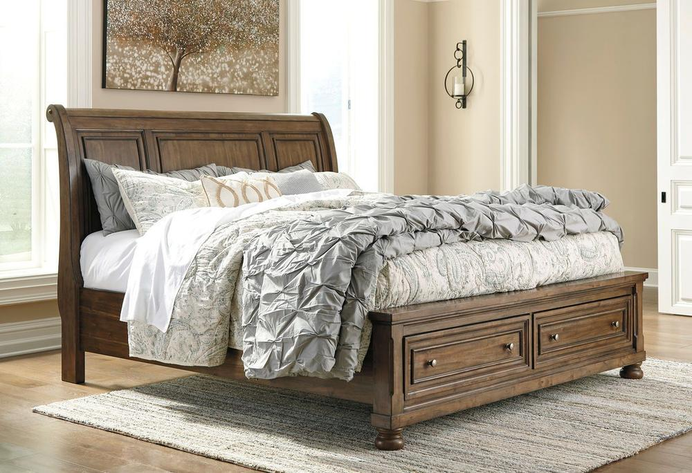 Picture of: California King Storage Bed Black