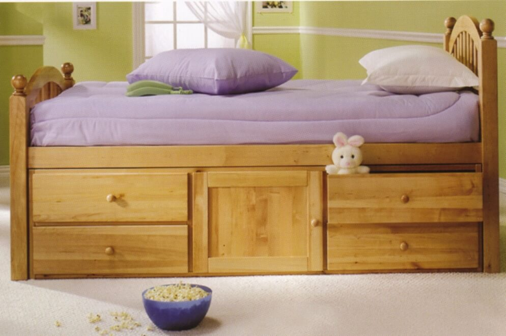 Picture of: Captain Bed With Storage Kids