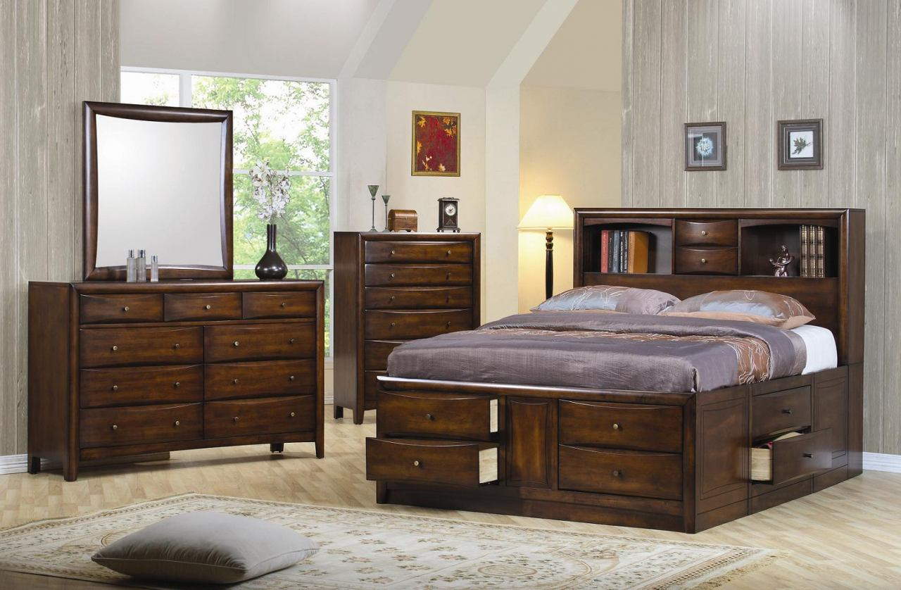 Picture of: Cheap Storage Bed Sets Ideas