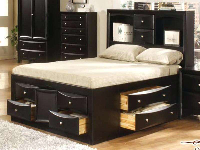 Picture of: Cheap Storage Beds Full Ideas