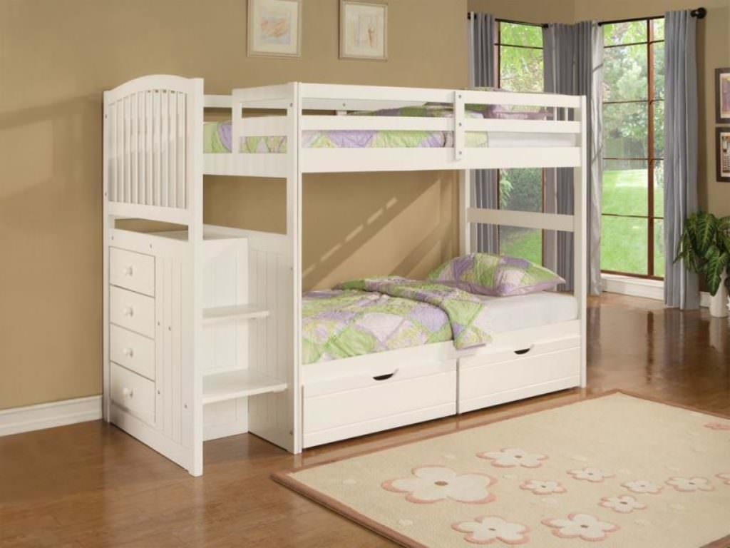 Picture of: Children Twin Xl Bed With Storage