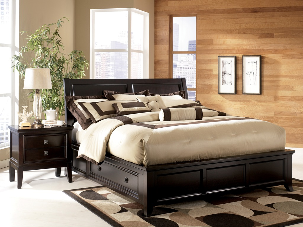 Picture of: Classic King Storage Bed Frame