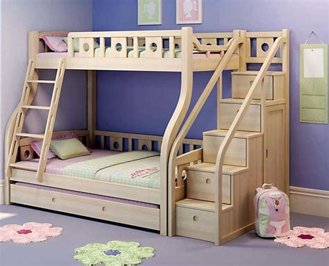 Image of: Commercial Bunk Bed with Storage Stairs