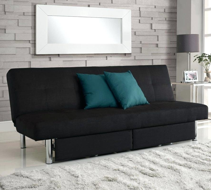 Image of: Convertible Sofa Bed with Storage Advantages